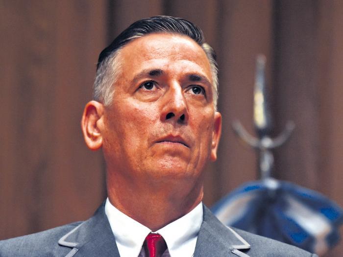 Potocar estaba al frente de la Dirección General de Comisarías cuando ocurrieron los delitos.