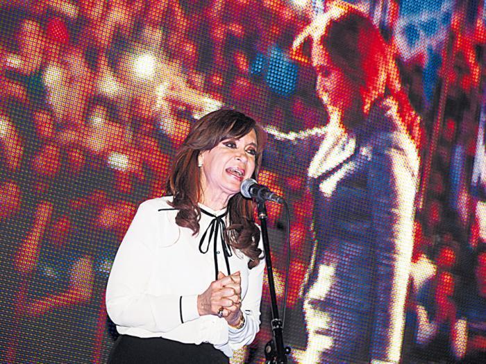 """""""Me hubiera gustado encontrar el nombre de más 'opositores' que preocuparan al establishment"""", dijo CFK."""
