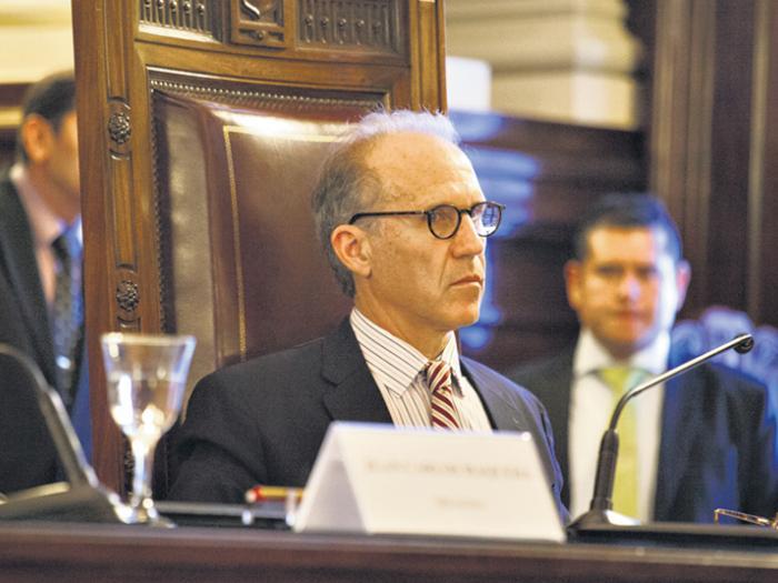 Carlos Rosenkrantz (en la foto), junto a Horacio Rosatti y Elena Highton de Nolasco: los jueces que aprobaron el 2x1.