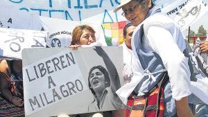 El texto firmado por más de 200 académicos exige la libertad de Milagro Sala, entre otros reclamos.