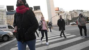 El pronóstico del tiempo del Servicio Meteorológico Nacional (SMN) indica que el frío seguirá por varios días en la Ciudad de Buenos Aires.