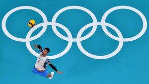 Facundo Conte sueña con la primera final olímpica del vóley argentino
