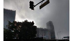 La niebla tapó la Ciudad de Buenos Aires