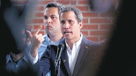 Guaidó dijo que, en caso de ser necesario, la Asamblea Nacional aprobará la intervención de EE.UU.