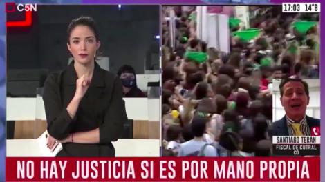 Trujillo soportó con entereza el ataque del fiscal.