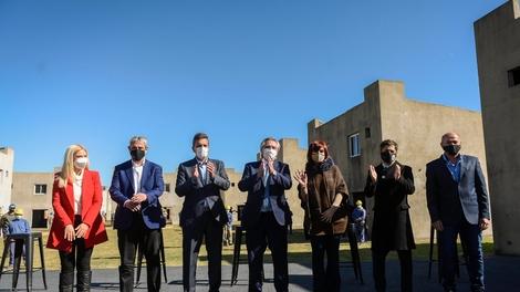La foto de la unidad tras la discusión por la política tarifaria.