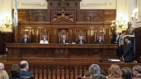 El poder de la Corte Suprema: Cinco jueces que no funcionan.