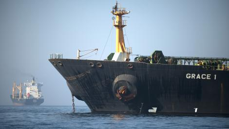 El petrolero iraní fue liberado