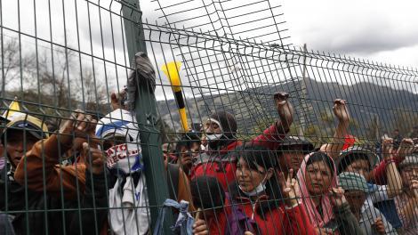 Ecuador: la asamblea indígena rechazó el diálogo y  sigue la protesta