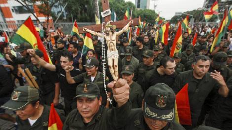 Evo Morales se vio obligado a renunciar por el golpe de Estado que se puso en marcha tras las elecciones del 20 de octubre.