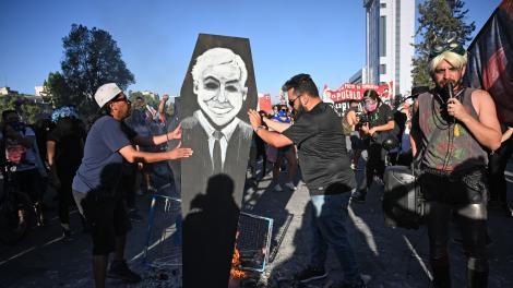 Avanza el paquete de medidas represivas del gobierno chileno