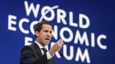 Un año de la ficción de gobierno de Juan Guaidó