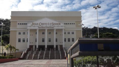 Un templo evangélico de Florianópolis que tiene menos concurrencia.