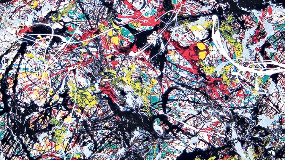 Pollock y los cowboys p gina12 for Mural 1943 by jackson pollock