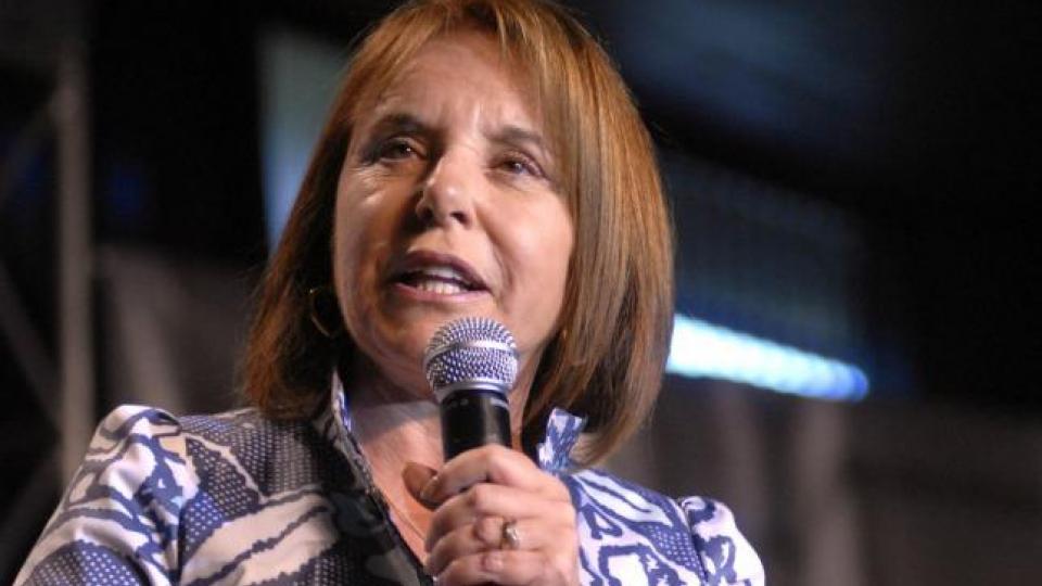 Chiche Duhalde criticó a quienes apoyan la                  candidatura de Cristina Kirchner.