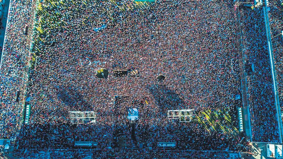 En un estadio desbordado, CFK lanzó Unidad Ciudadana