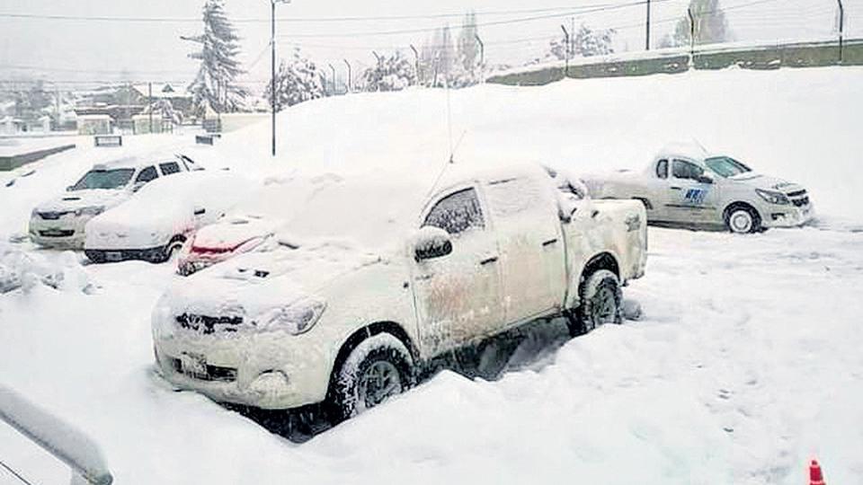 En Paso Indios la temperatura por las noches es inferior a 20 grados bajo cero.