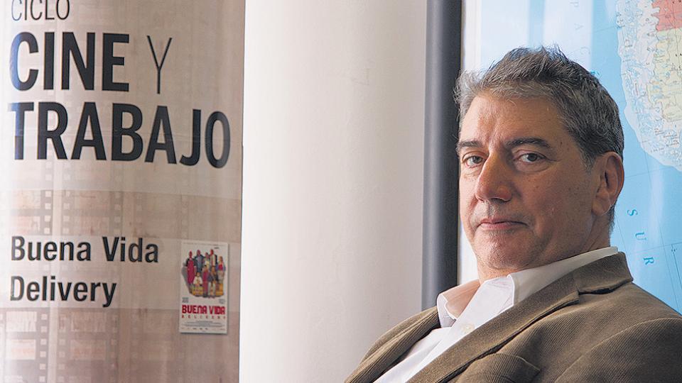 Ralph Haiek, presidente del Instituto Nacional de Cine y Artes Audiovisuales.