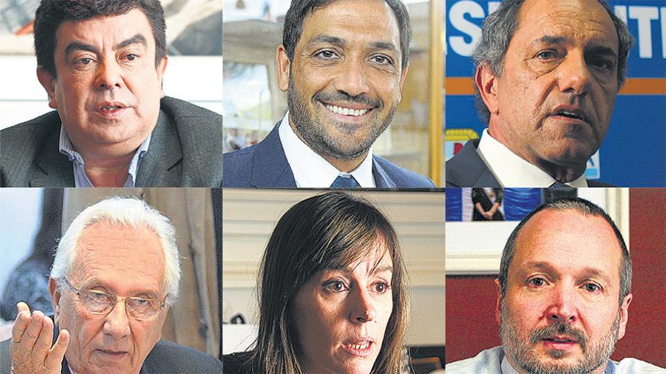 Fernando Espinoza y Juan Patricio Mussi, hombres fuertes del conurbano. Scioli, Recalde, Di Tullio y Sabbatella.