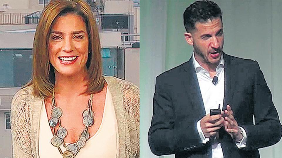 Débora Pérez Volpin y Matías Tombolini pasan de los medios a la arena política.