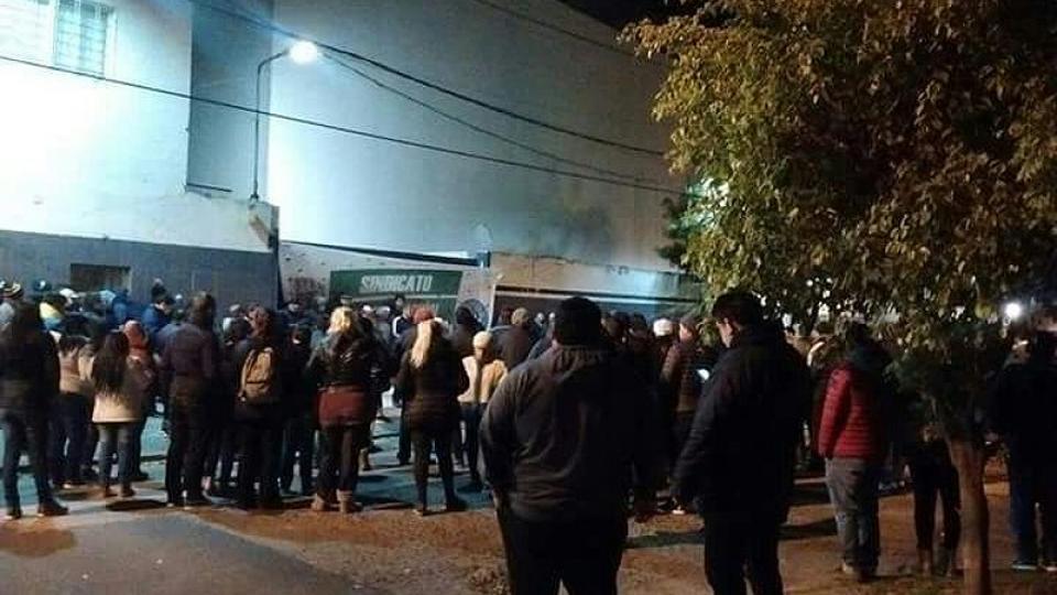 La planta Pepsico de Vicente López, donde trabajan 600 operarios, anunció su cierre el miércoles pasado.