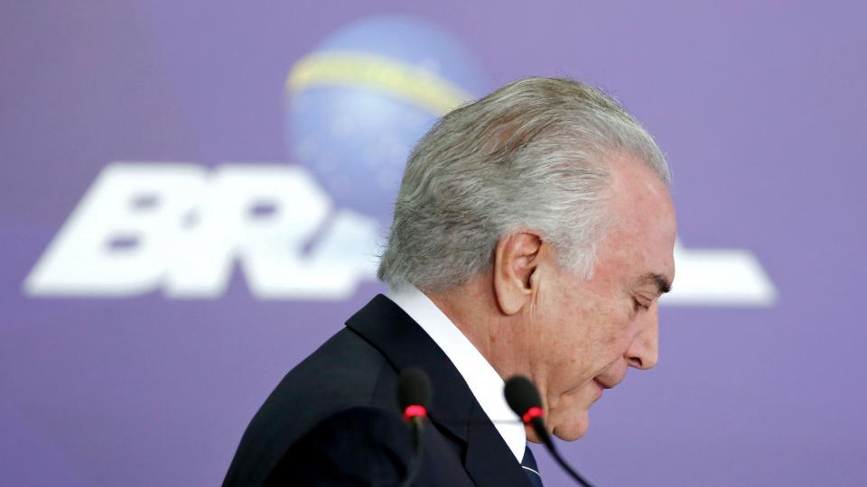 Temer no encuentra soluciones a la delicada economía brasileña.