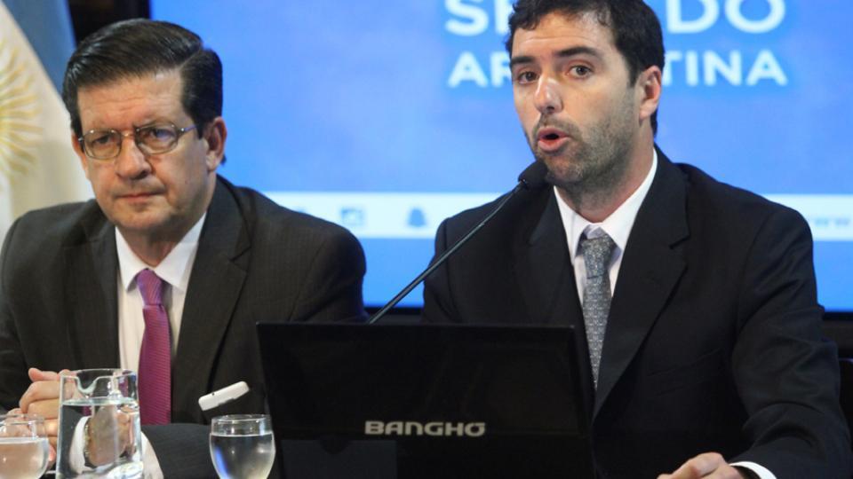 El titular de la Anses, Emilio Basavilbaso.