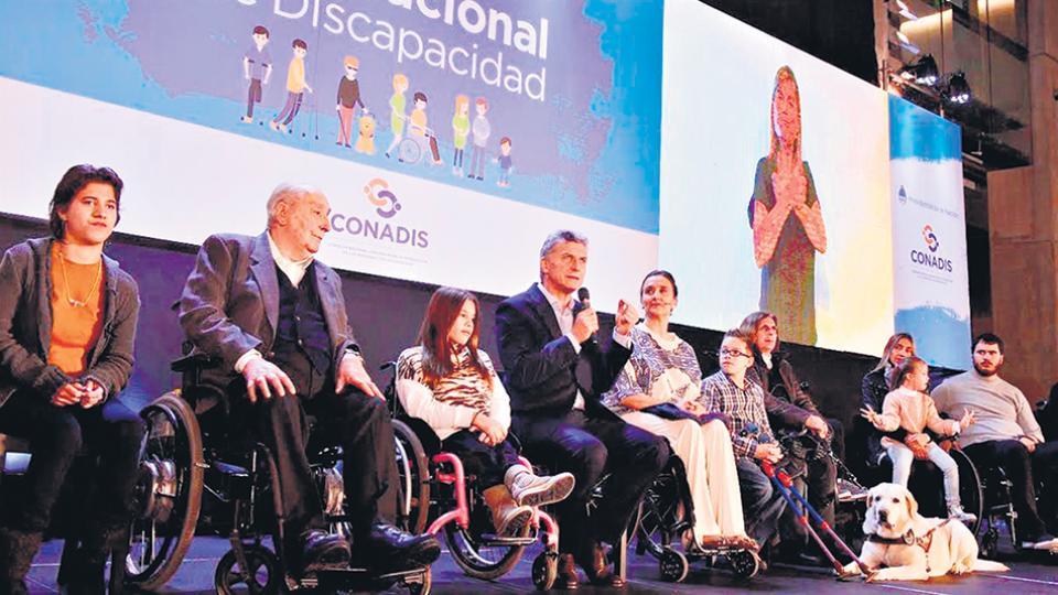 El lanzamiento del Plan Nacional de Discapacidad, en el Centro Cultural Kirchner, el 11 de mayo pasado.