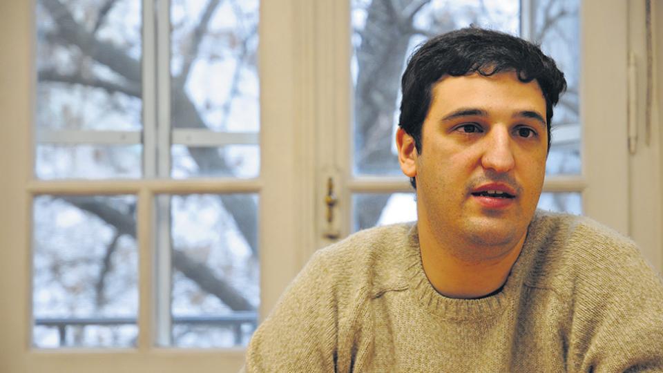 Alan Iud trabaja desde hace once años con las Abuelas. Ganó el concurso para ser fiscal, pero su nombre fue retirado por el Gobierno.