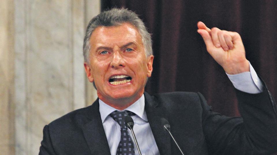"""""""Una pyme que cierra sus puertas no vuelve a abrir"""", señaló Macri, sin aludir al impacto del tarifazo."""