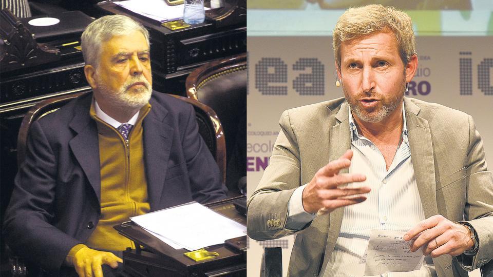 El diputado y ex ministro de Planificación Julio De Vido acusó a Rogelio Frigerio de sumarse al show mediático.
