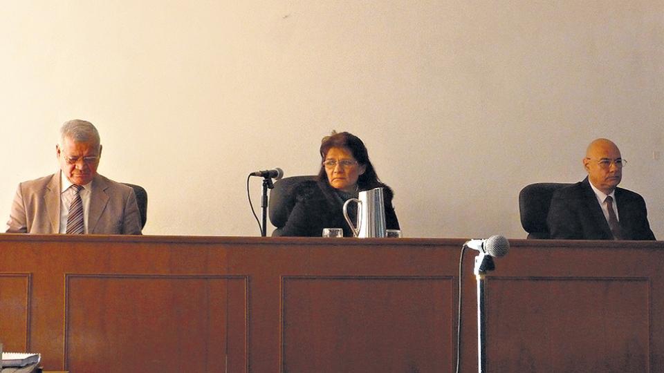 El Tribunal Penal 1 de Oberá que renunció tras las                  denuncias y los reclamos de apartamiento.