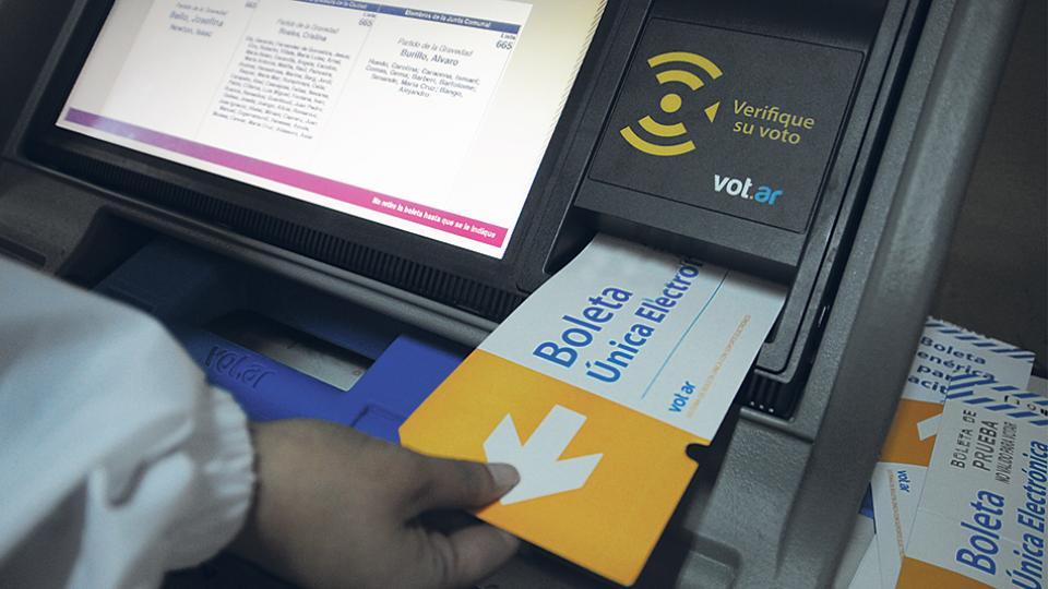 El voto electrónico utilizado en Salta es el mismo que el de la Ciudad de Buenos Aires.