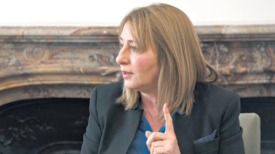 Procuradora general de la Nación, Alejandra Gils Carbó.