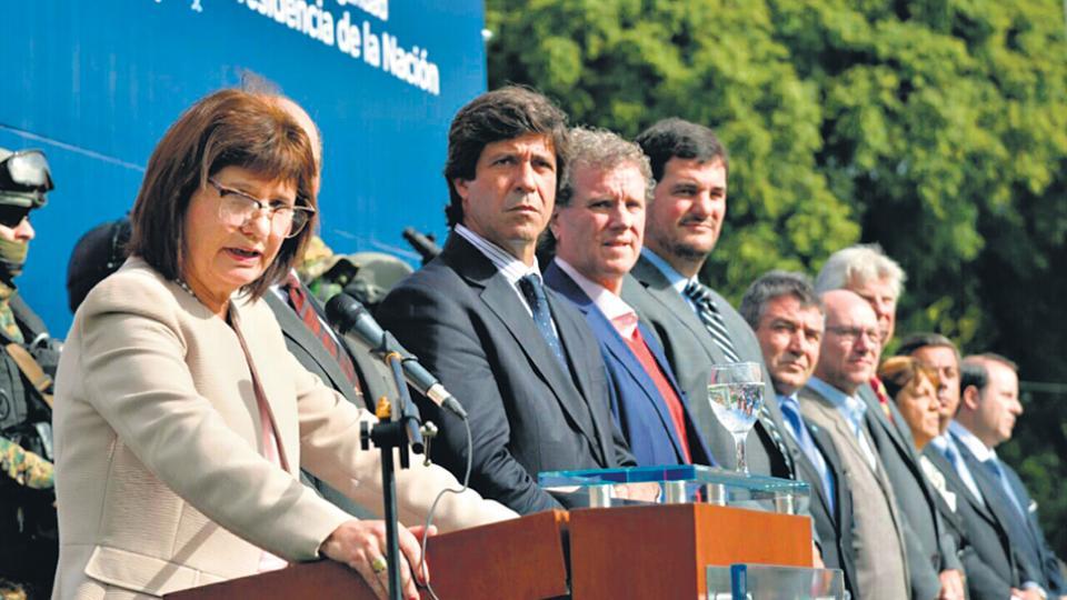 Pablo Noceti, junto a Patricia Bullrich: de la teoría negacionista a la práctica de la desaparición forzada.