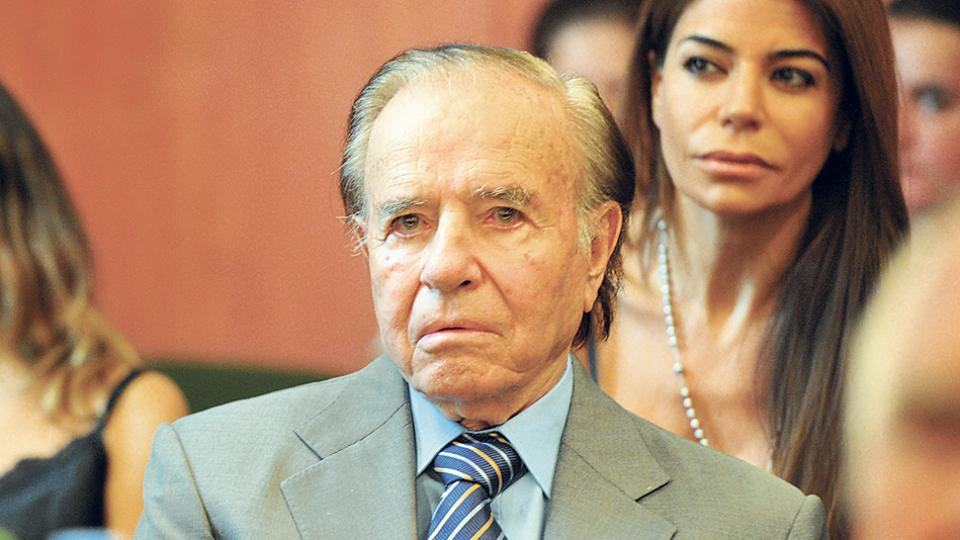 El ex presidente Carlos Menem fue el candidato más votado en las PASO con el 44 por ciento.