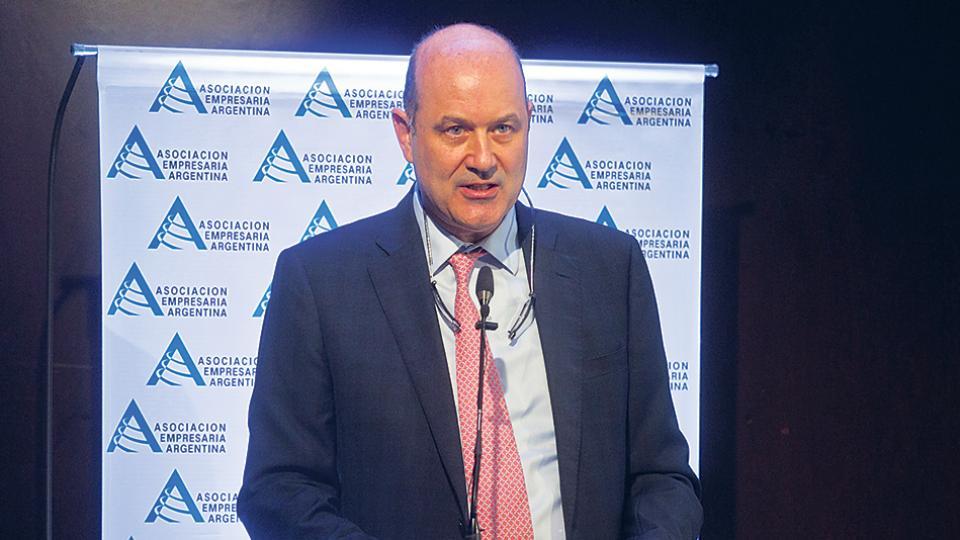 Federico Sturzenegger, presidente del Banco Central, expuso en un congreso de AEA.