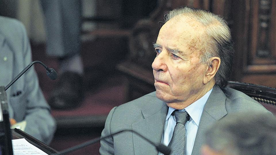 El último mandato de Menem