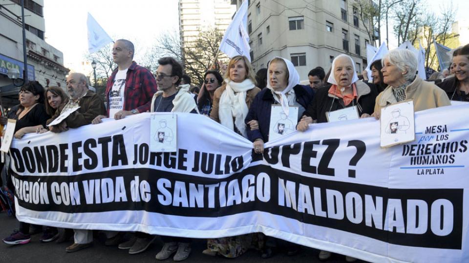 11 años de la segunda desaparición de Julio López