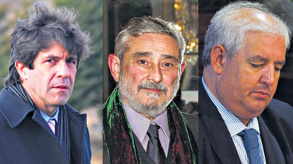 Pablo Noceti, Daniel Barberis y Gonzalo Cané(ro): los operadores de Bullrich para desviar la investigación.