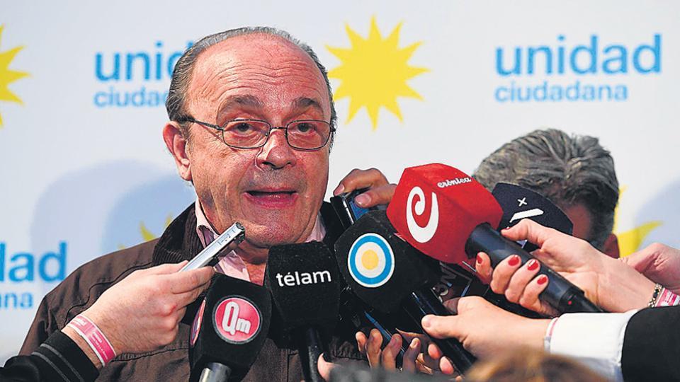 Leopoldo Moreau es candidato a diputado nacional por Unidad Ciudadana.
