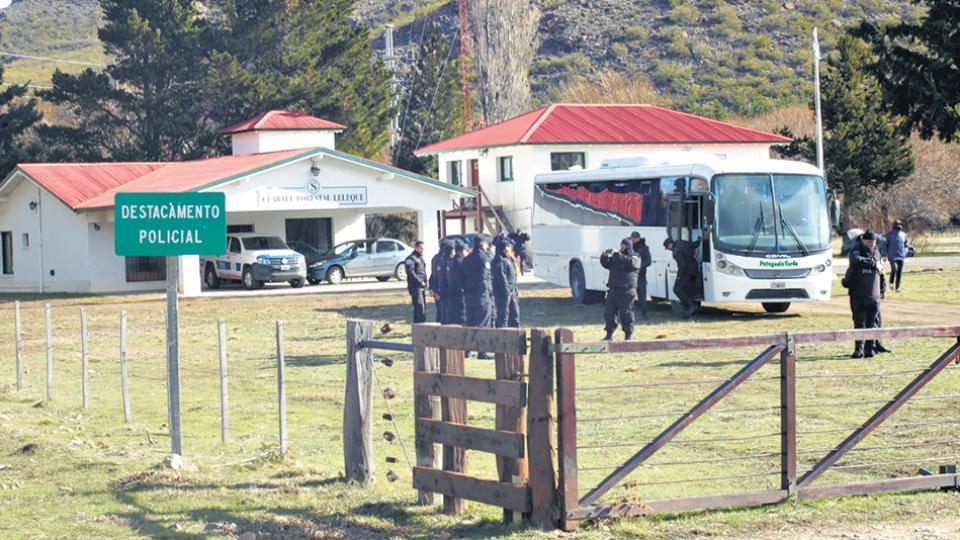 El rastrillaje del 16 de agosto en la comunidad mapuche de Cushamen.