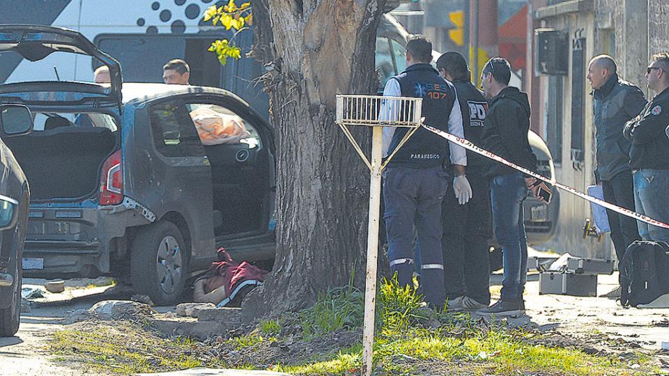 Emanuel Medina y David Campos fueron acribillados por balas policiales.