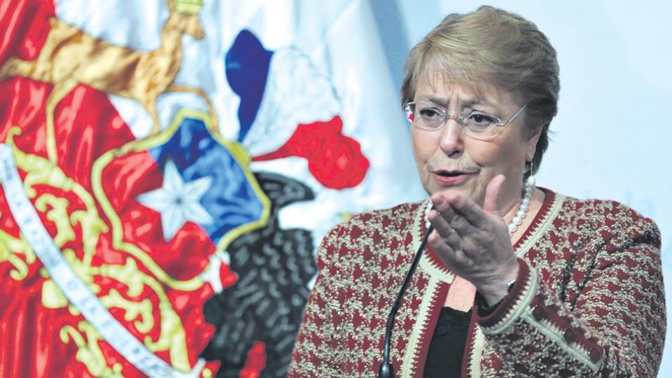 A la mandataria socialista Bachelet le quedan menos de siete meses para dejar el poder.