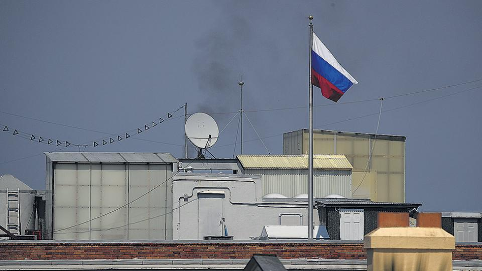 El consulado ruso de San Francisco, eje de una nueva escalada diplomática entre EE.UU. y Rusia.