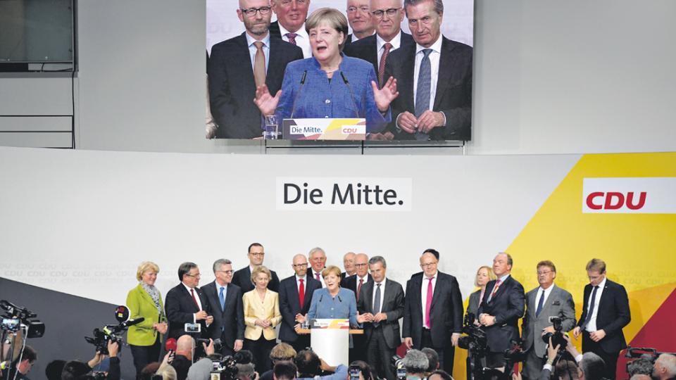 Luego de 12 años en el poder, Ángela Merkel seguirá siendo la canciller y cabeza política de Alemania.