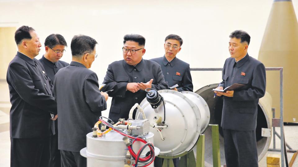 Kim Jong-un había afirmado que su país poseía una bomba de hidrógeno; el test de ayer provocó un sismo.