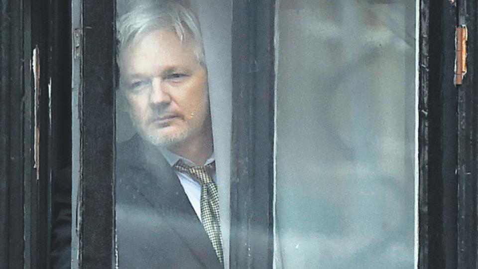 Assange sigue asilado en la embajada de Ecuador en Londres.