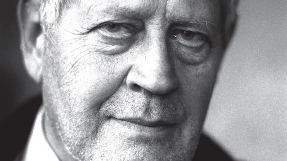 Retrato de Hugo Pratt.