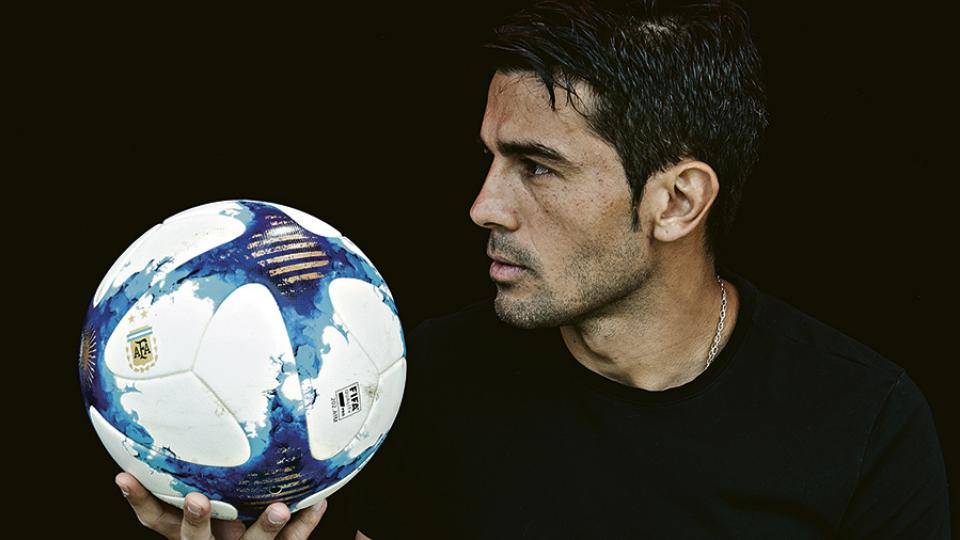 """Erviti: """"No siento que trascender como ser humano sea ser futbolista"""""""